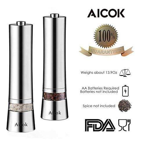 Aicok Salz und Pfeffermühle - 5