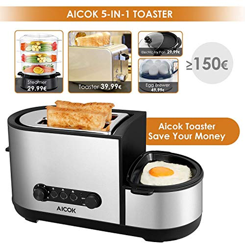 Aicok Toaster 3 in 1 - 2