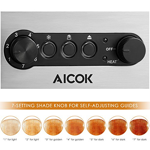 Aicok Toaster 3 in 1 - 3