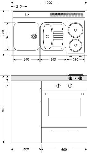 MKB100 Miniküche - 4