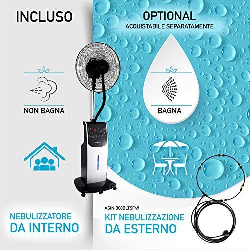 DARDARUGA Ventilator mit Zerstäuber - 3