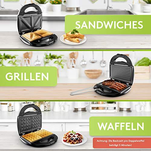 Liebfeld 3in1 Sandwich Maker - 5
